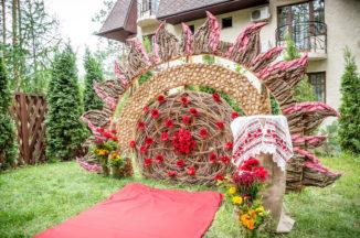 Свадебная арка на прокат