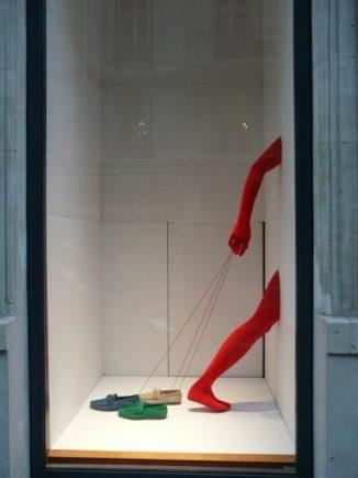 витрины для магазина одежды