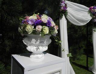 Аренда бетонной вазы