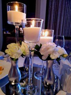 композиция со свечами