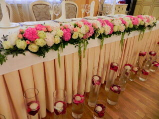 флористика свадебная