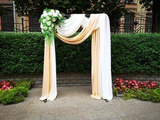 арка деревянная