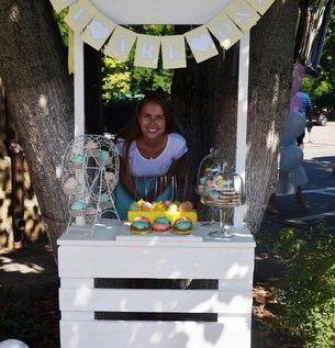 лимонадный столик
