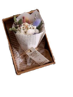 Букетики с сухоцветами