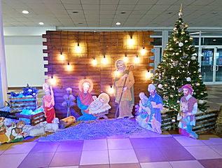 рождественская фотозона