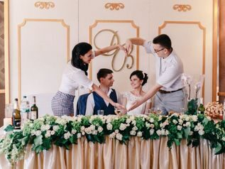 классическая свадьба