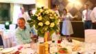 Живые цветы на стол готей
